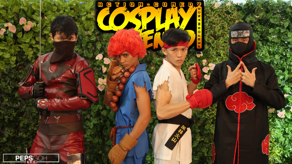 cosplay action comedy performance peps goh choreography