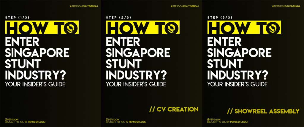 How to enter Singapore stunt industry